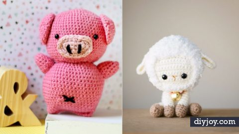 36 Cool Amigurumi Projects You Should Be Crocheting Right Now | DIY Joy Projects and Crafts Ideas