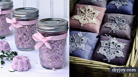 33 DIY Ideas With Lavender | DIY Joy Projects and Crafts Ideas