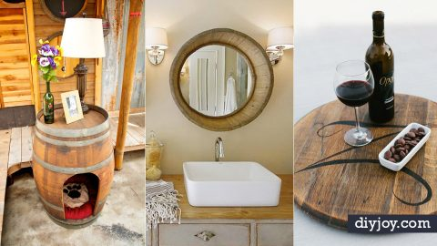 33 DIY Ideas Made With Old Barrels   DIY Joy Projects and Crafts Ideas