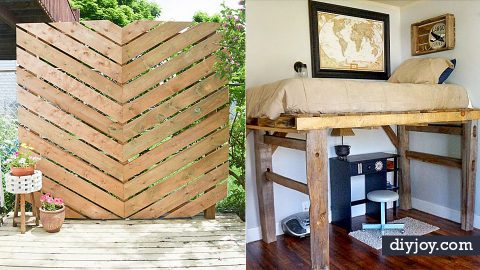 34 Cool Ways To Use Fence Posts | DIY Joy Projects and Crafts Ideas
