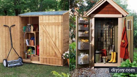 31 DIY Storage Sheds and Plans To Make This Weekend | DIY Joy Projects and Crafts Ideas