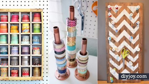 35 Cool Craft Room Storage Ideas | DIY Joy Projects and Crafts Ideas