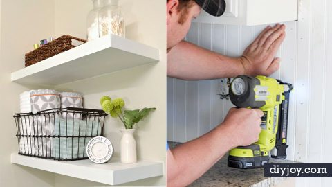 35 DIY Home Improvement Projects To Try Today   DIY Joy Projects and Crafts Ideas