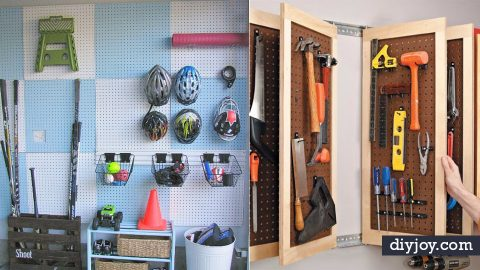 35 Genius DIY Ideas for The Garage | DIY Joy Projects and Crafts Ideas