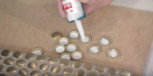 He Puts Bottle Caps On A Piece of Wood And You'll Be Amazed By What He Makes (Brilliant!)