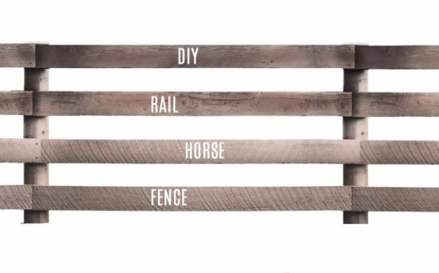 DIY Ideas With Old Fence Posts - 4 Rail Horse Fence - Rustic Farmhouse Decor Tutorials and Projects Made With An Old Fence Post - Easy Vintage Shelving, Wall Art, Picture Frames and Home Decor for Kitchen, Living Room and Bathroom - Creative Country Crafts, Seating, Furniture, Patio Decor and Rustic Wall Art and Accessories to Make and Sell http://diyjoy.com/diy-projects-old-windows