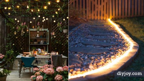 41 DIY Outdoor Lighting Ideas | DIY Joy Projects and Crafts Ideas