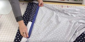 She Sews  A Large Piece Of Muslin, Adds A Product To It And Watch What She Does Next!