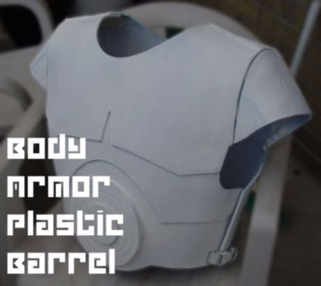 Body Armor Plastic Barrel