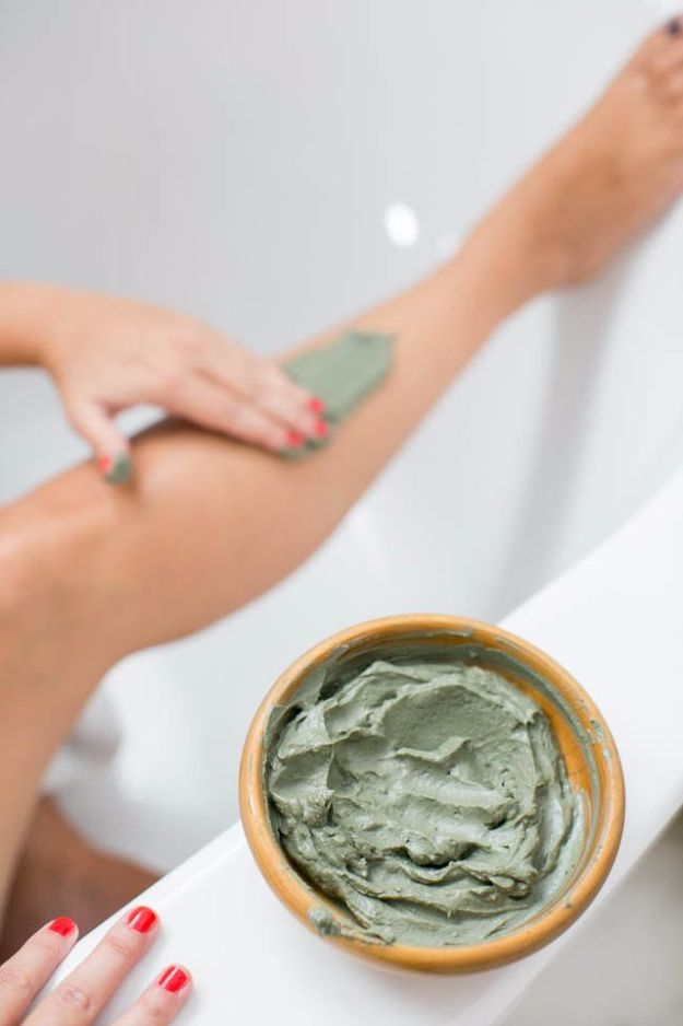 DIY Spa Day Ideas - Body Wrap Slimming Gel - Easy Sugar Scrubs, Lotions and Bath Ideas for The Best Pampering You Can Do At Home - Lavender Projects, Relaxing Baths and Bath Bombs, Tub Soaks and Facials - Step by Step Tutorials for Luxury Bath Products