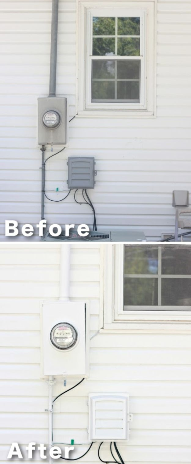DIY Home Improvement Projects On A Budget - Camouflage An Eyesore - Cool Home Improvement Hacks, Easy and Cheap Do It Yourself Tutorials for Updating and Renovating Your House - Home Decor Tips and Tricks, Remodeling and Decorating Hacks - DIY Projects