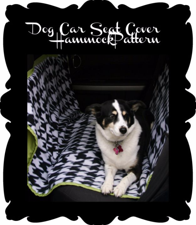 Best DIY Ideas for a Summer Road Trip - Car Seat Hammock for Dogs - Road Trip Snacks - Cool Crafts and Easy Projects to Make For Road Trips in the Car - Fun Crafts to Make for Vacation - Creative Ideas for Making Cheap Travel Ideas With Creative Money Saving Tips