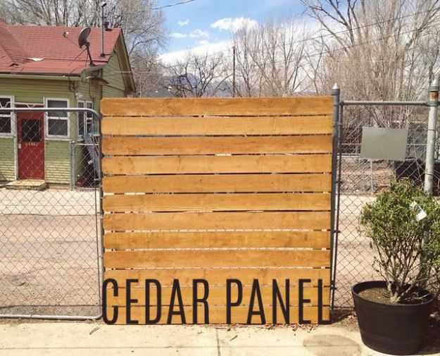 DIY Ideas With Old Fence Posts - Cedar Panel - Rustic Farmhouse Decor Tutorials and Projects Made With An Old Fence Post - Easy Vintage Shelving, Wall Art, Picture Frames and Home Decor for Kitchen, Living Room and Bathroom - Creative Country Crafts, Seating, Furniture, Patio Decor and Rustic Wall Art and Accessories to Make and Sell