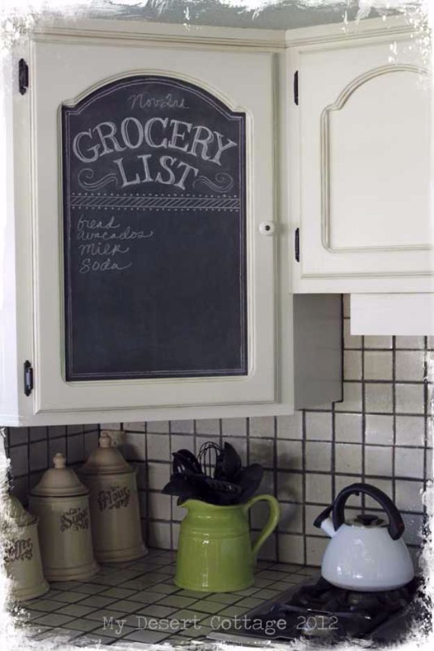 DIY Remodeling Hacks - Chalk Board Paint Makeover - Quick and Easy Home Repair Tips and Tricks - Cool Hacks for DIY Home Improvement Ideas - Cheap Ways To Fix Bathroom, Bedroom, Kitchen, Outdoor, Living Room and Lighting - Creative Renovation on A Budget - DIY Projects and Crafts by DIY JOY #remodeling #homeimprovement #diy #hacks