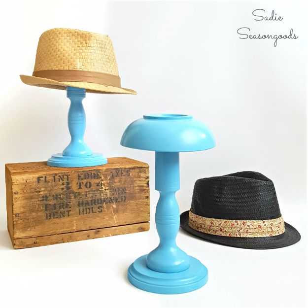 Country Crafts to Make And Sell - DIY Hat Stand - Easy DIY Home Decor and Rustic Craft Ideas - Step by Step Farmhouse Decor To Make and Sell on Etsy and at Craft Fairs - Tutorials and Instructions for Creative Ways to Make Money - Best Vintage Farmhouse DIY For Living Room, Bedroom, Walls and Gifts #craftstosell #countrycrafts #etsyideas