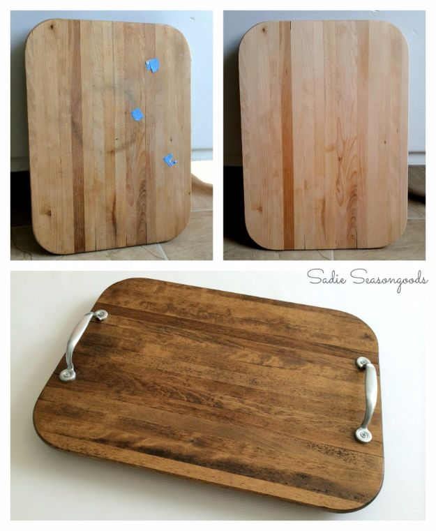 Farmhouse Decor to Make And Sell - Easy DIY Farmhouse Tray - Easy DIY Home Decor and Rustic Craft Ideas - Step by Step Country Crafts, Farmhouse Decor To Make and Sell on Etsy and at Craft Fairs - Tutorials and Instructions for Creative Ways to Make Money - Best Vintage Farmhouse DIY For Living Room, Bedroom, Walls and Gifts #diydecor