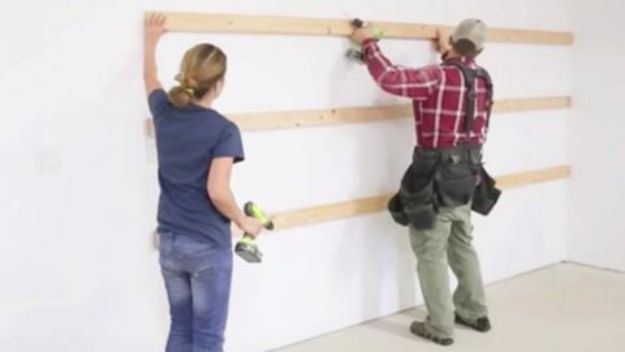 DIY Projects Your Garage Needs - Easy Garage Shelving - Do It Yourself Garage Makeover Ideas Include Storage, Mudroom, Organization, Shelves, and Project Plans for Cool New Garage Decor - Easy Home Decor on A Budget http://diyjoy.com/diy-garage-ideas