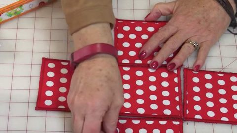 She Fuses Fabric To A Product, Sews Each Square, And Makes An Item We Can All Use! | DIY Joy Projects and Crafts Ideas