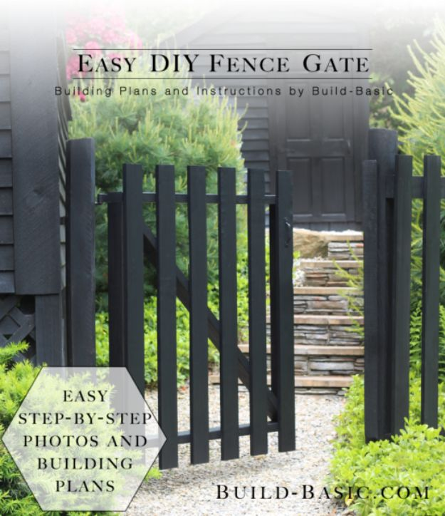DIY Ideas With Old Fence Posts - Fence Gate - Rustic Farmhouse Decor Tutorials and Projects Made With An Old Fence Post - Easy Vintage Shelving, Wall Art, Picture Frames and Home Decor for Kitchen, Living Room and Bathroom - Creative Country Crafts, Seating, Furniture, Patio Decor and Rustic Wall Art and Accessories to Make and Sell