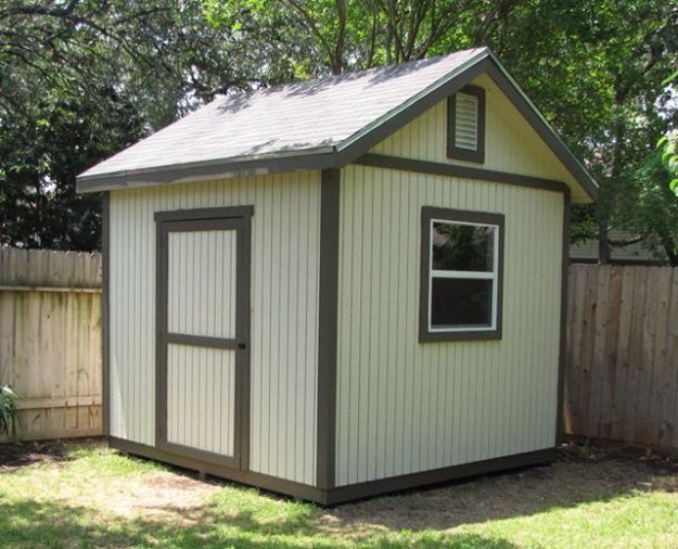 31 diy storage sheds and plans to make this weekend for Outside buildings design