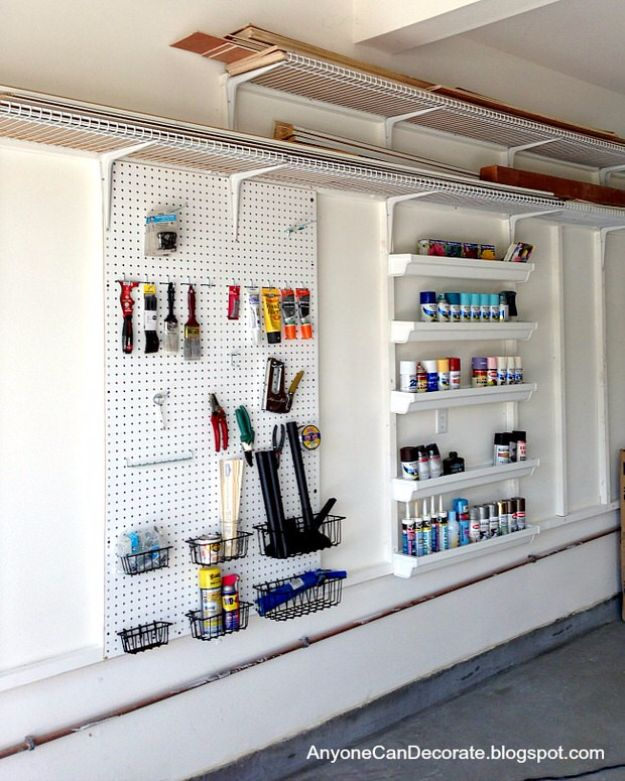 Diy Garage Storage Ideas Projects: 35 Genius DIY Ideas For The Garage