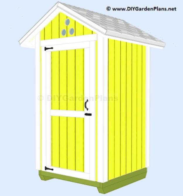 31 diy storage sheds and plans to make this weekend for Outdoor tool shed