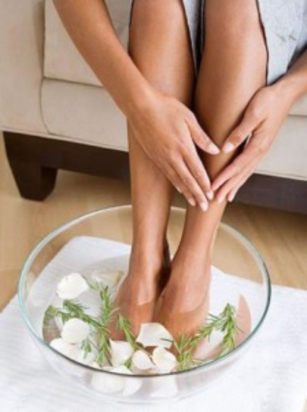 DIY Spa Day Ideas - Home Spa Treatment for Dry Cracked Feet - Easy Sugar Scrubs, Lotions and Bath Ideas for The Best Pampering You Can Do At Home - Lavender Projects, Relaxing Baths and Bath Bombs, Tub Soaks and Facials - Step by Step Tutorials for Luxury Bath Products http://diyjoy.com/diy-spa-day-ideas