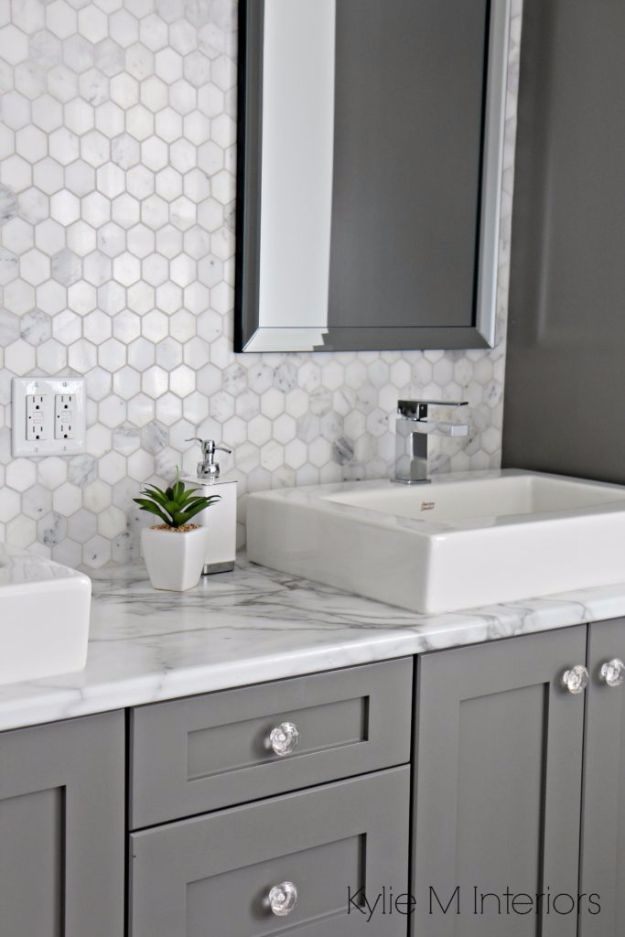 DIY Home Improvement Projects On A Budget - Install Laminate Countertops - Cool Home Improvement Hacks, Easy and Cheap Do It Yourself Tutorials for Updating and Renovating Your House - Home Decor Tips and Tricks, Remodeling and Decorating Hacks - DIY Projects and Crafts by DIY JOY http://diyjoy.com/diy-home-improvement-ideas-budget