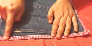She Cuts A Leg Off Of Jeans And Adds Her Favorite Trim To Make This Item We All Need