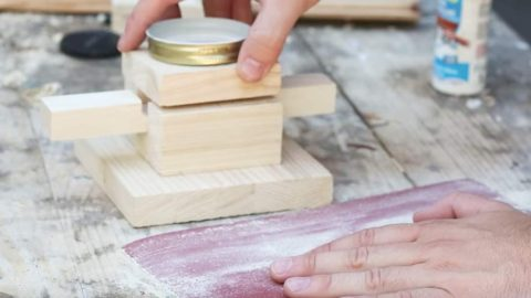 He Cuts Wood In Different Shapes, He Adds A Mason Jar And You Won't Believe Why! | DIY Joy Projects and Crafts Ideas