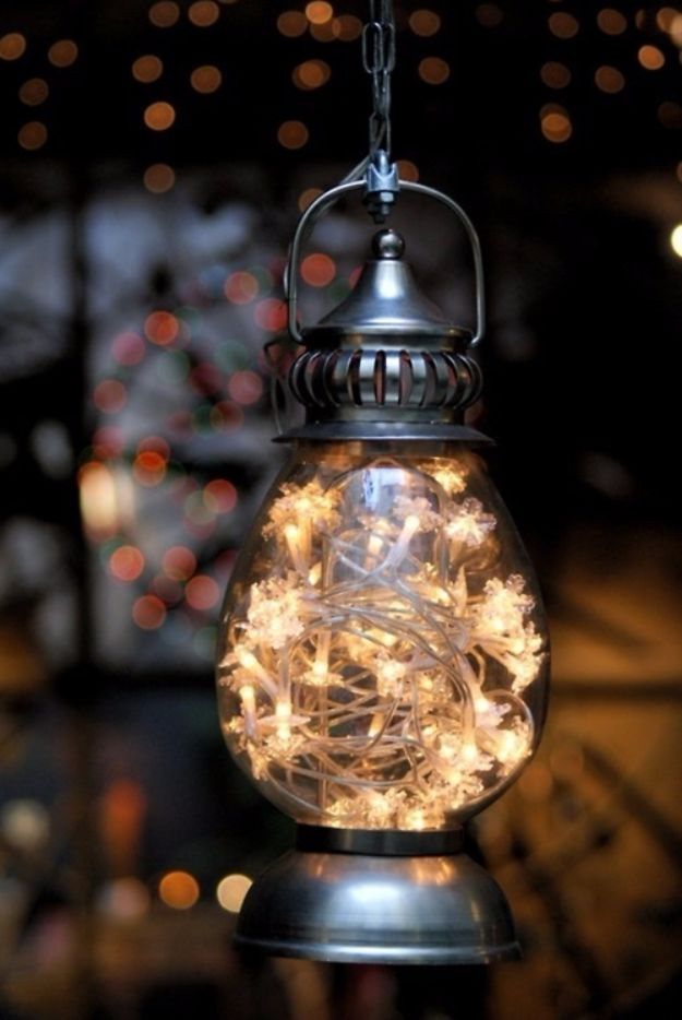 DIY Outdoor Lighting Ideas - Old Lantern Lights - Do It Yourself Lighting Ideas for the Backyard, Patio, Porch and Pool - Lights, Chandeliers, Lamps and String Lights for Your Outdoors - Dining Table and Chair Lighting, Overhead, Sconces and Weatherproof Projects #diy #lighting