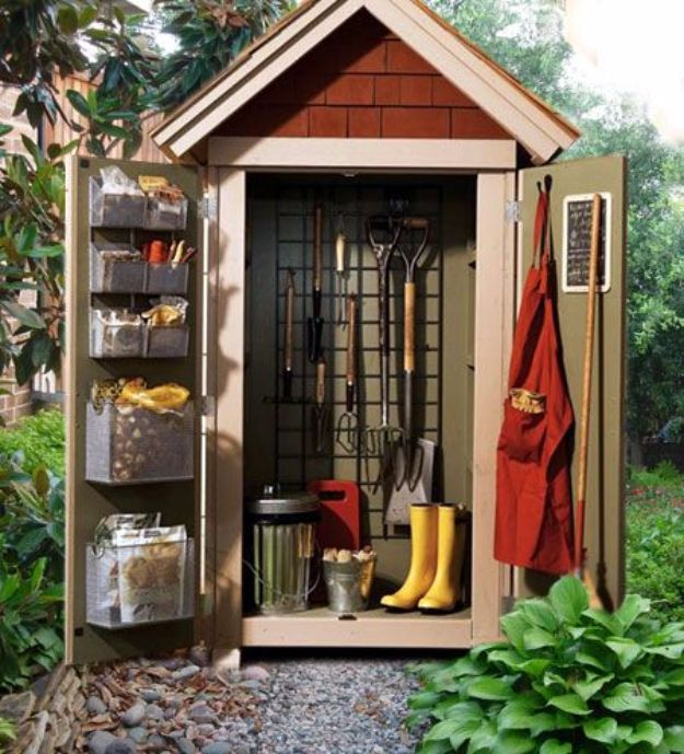 Top 32 Diy Fun Landscaping Ideas For Your Dream Backyard: 31 DIY Storage Sheds And Plans To Make This Weekend