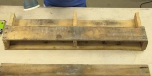 She Cuts A Pallet And Makes A Really Useful Item That We Can All Use. Watch!