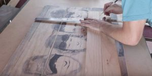 He Puts a Photo On 3 Pieces Of Wood And The Next Thing He Does Is Magical!