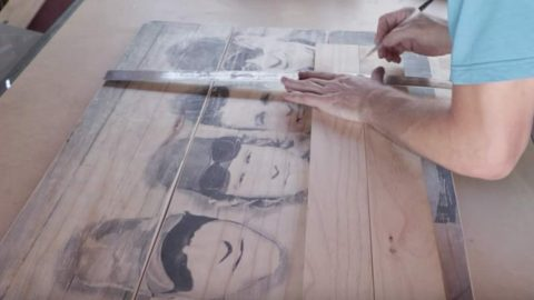 He Puts a Photo On 3 Pieces Of Wood And The Next Thing He Does Is Magical! | DIY Joy Projects and Crafts Ideas