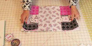She Cuts Out Squares In Fabric And What She Does Next Is Genius!