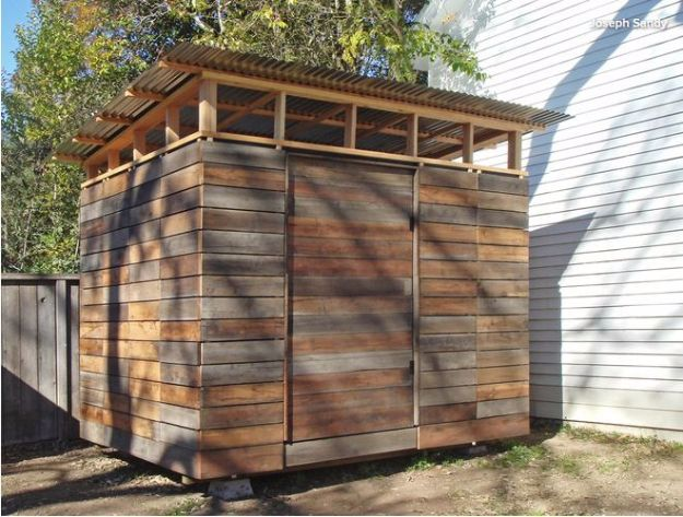 31 diy storage sheds and plans to make this weekend for Diy garden shed