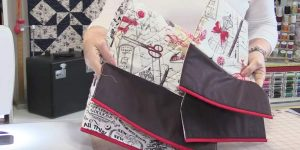 She Sews This Fabric Together, Adds Trim, Then Next She Makes An Item All Of Us Need!