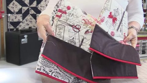 She Sews This Fabric Together, Adds Trim, Then Next She Makes An Item All Of Us Need! | DIY Joy Projects and Crafts Ideas