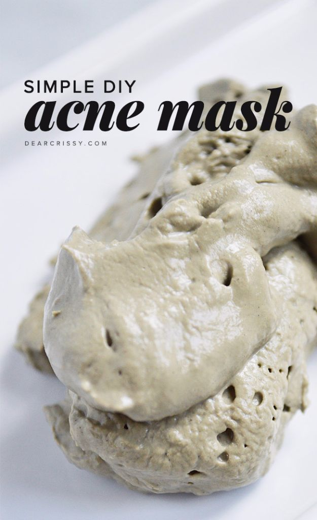DIY Spa Day Ideas - Simple DIY Acne Mask - Easy Sugar Scrubs, Lotions and Bath Ideas for The Best Pampering You Can Do At Home - Lavender Projects, Relaxing Baths and Bath Bombs, Tub Soaks and Facials - Step by Step Tutorials for Luxury Bath Products http://diyjoy.com/diy-spa-day-ideas