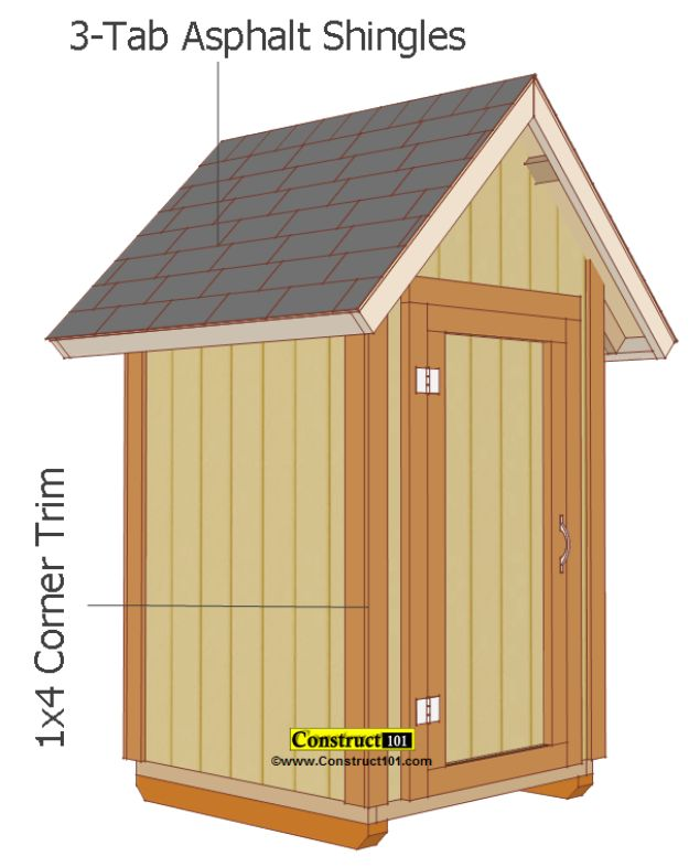 DIY Storage Sheds and Plans - Small Shed Plans - Cool and Easy Storage Shed Makeovers, Cheap Ideas to Build This Weekend, Basic Woodworking Projects to Add Extra Storage Space to Your Home or Small Backyard - How To Build A Shed With Pallets - Step by Step Tutorials and Instructions #storageideas #diyideas #diyhome
