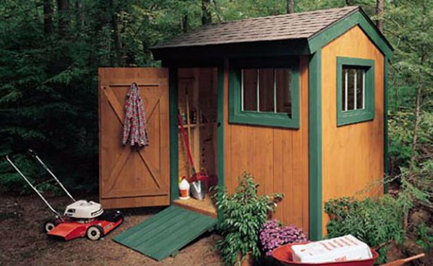 DIY Storage Sheds and Plans - Super Shed - Cool and Easy Storage Shed Makeovers, Cheap Ideas to Build This Weekend, Basic Woodworking Projects to Add Extra Storage Space to Your Home or Small Backyard - How To Build A Shed With Pallets - Step by Step Tutorials and Instructions http://diyjoy.com/diy-storage-sheds-plans