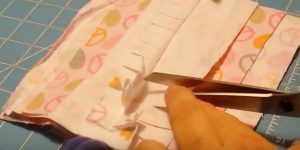 She Uses Scrap Fabrics To Make This Item No One Should Be Without In Their Home. Watch!