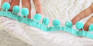 She Adds Turquoise Pom Poms And What She Does Next Is Something You Need This Summer!