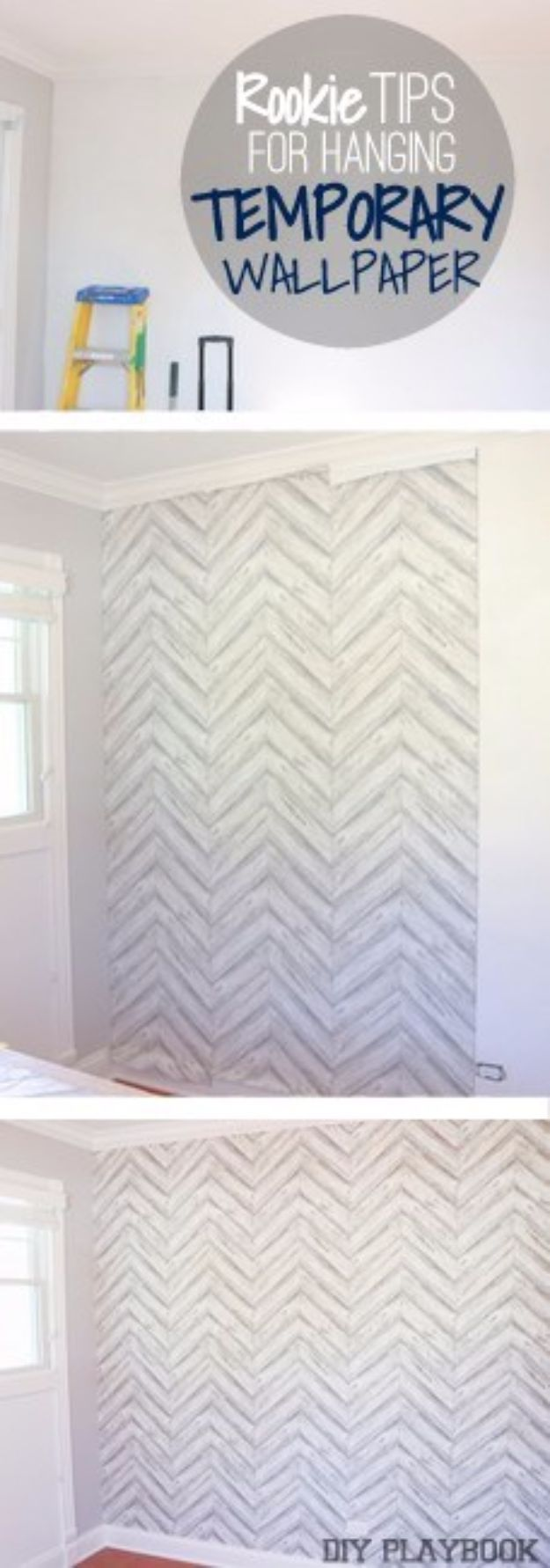 DIY Hacks for Renters - Temporary Wallpapers - Easy Ways to Decorate and Fix Things on Rental Property - Decorate Walls, Cheap Ideas for Making an Apartment, Small Space or Tiny Closet Work For You - Quick Hacks and DIY Projects on A Budget - Step by Step Tutorials and Instructions for Simple Home Decor http://diyjoy.com/diy-hacks-renters