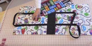 She Sews Fabrics Together And Makes An Item That Grows When You Need Space!