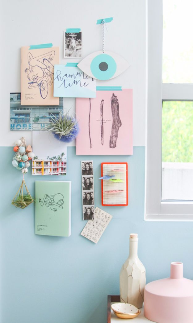 DIY Hacks for Renters - Use Washi Tape To Decorate Walls - Easy Ways to Decorate and Fix Things on Rental Property - Decorate Walls, Cheap Ideas for Making an Apartment, Small Space or Tiny Closet Work For You - Quick Hacks and DIY Projects on A Budget - Step by Step Tutorials and Instructions for Simple Home Decor http://diyjoy.com/diy-hacks-renters