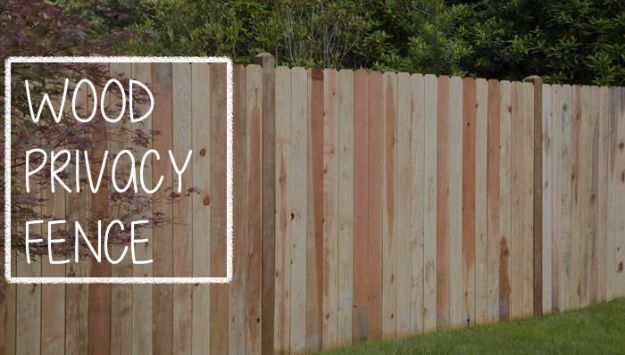 DIY Ideas With Old Fence Posts - Wood Privacy Fence - Rustic Farmhouse Decor Tutorials and Projects Made With An Old Fence Post - Easy Vintage Shelving, Wall Art, Picture Frames and Home Decor for Kitchen, Living Room and Bathroom - Creative Country Crafts, Seating, Furniture, Patio Decor and Rustic Wall Art and Accessories to Make and Sell http://diyjoy.com/diy-projects-old-windows
