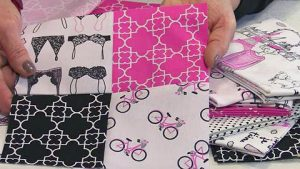 Quilting Tutorial- How to Sew A Quilt With Chenille Trim