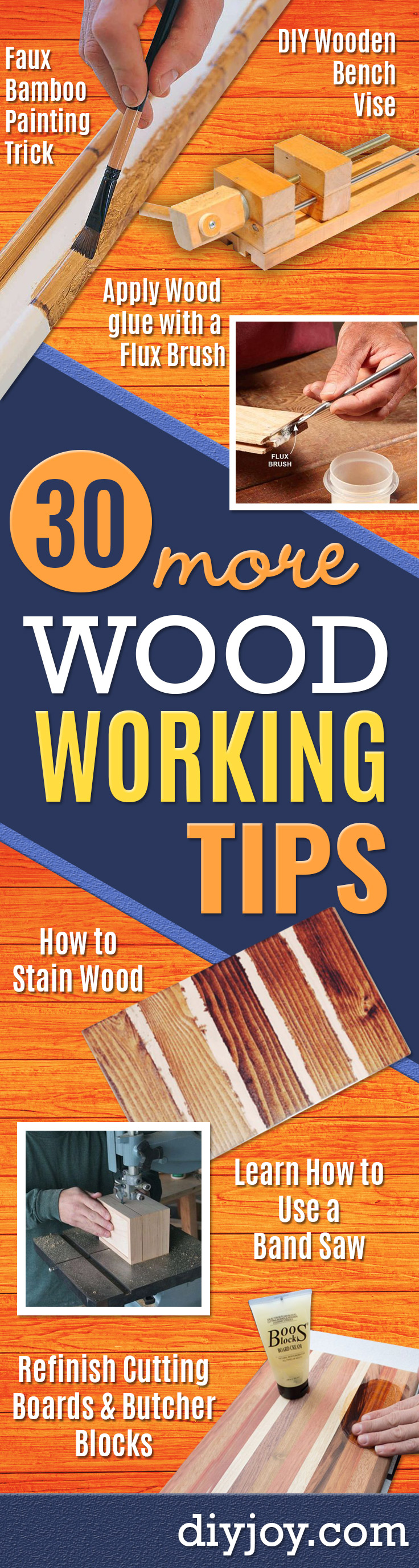 30 Woodworking Tips